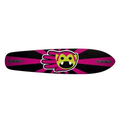 Lila HaarVampire Personalisiertes Skateboard