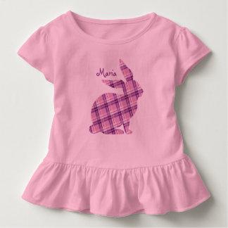 Lila Häschen-grafischer T - Shirt für orthodoxes