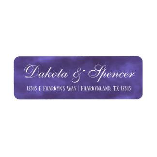 Lila Hochzeit  königliche violette