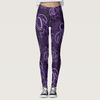 Lila Honu Leggings