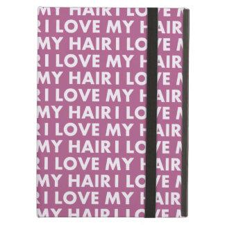Lila i-Liebe mein Haar-mutiger Text-Ausschnitt
