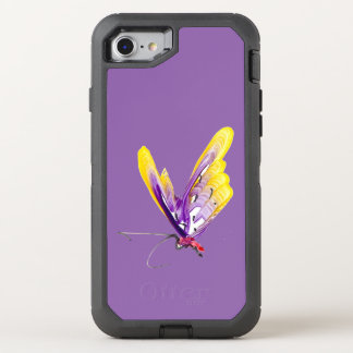 Lila iPhone 6/6s - lila Schmetterling OtterBox Defender iPhone 8/7 Hülle