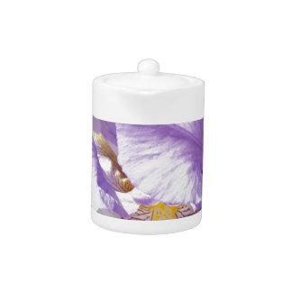 lila Iris-Blume