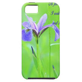 Lila Iris iPhone 5 Hülle