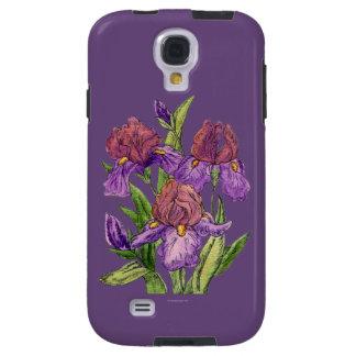Lila IrisWatercolor Galaxy S4 Hülle