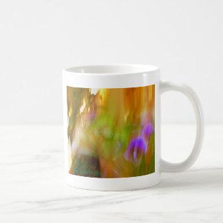 Lila Kaffeetasse