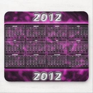 Lila Kalender Mousepad