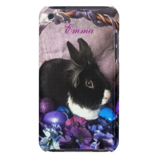 Lila Kaninchen Barely There iPod Case
