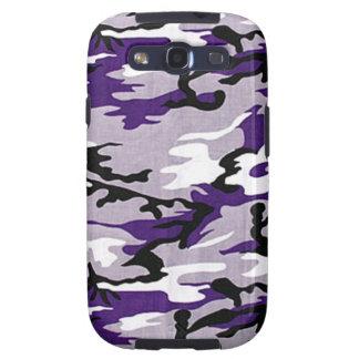 Lila Kasten Camouflage-Samsungs-Galaxie-S Hülle Fürs Galaxy S3