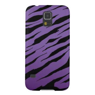 Lila Kasten der Tiger-Streifen-Galaxie-S5 Samsung S5 Cover