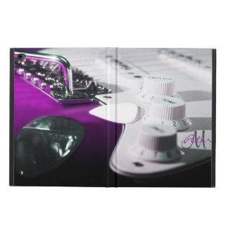 Lila Kasten elektrische Gitarren-Monogramm-iPad