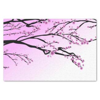 Lila Kirschblüte Kirschblüte Seidenpapier