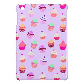 Lila kleiner KuchenConfetti iPad Mini Hülle