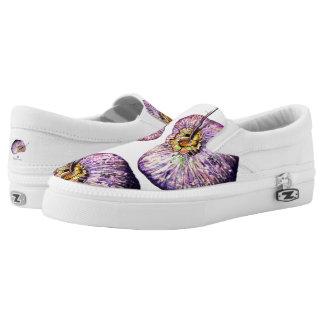 Lila Kokosnüsse! In erstaunlich ausführlichen Slip-On Sneaker