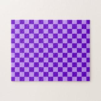 Lila Kombinations-Schachbrett durch Shirley Taylor Puzzle
