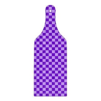 Lila Kombinations-Schachbrett durch Shirley Taylor Schneidebrett