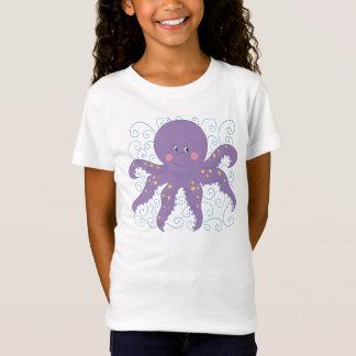 Lila Kraken-T-Shirt T-Shirt
