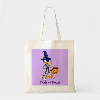 Lila kundenspezifische Halloween-Leckerei-Taschen
