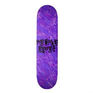 Lila Lava-Leute-Esser-Skate-Brett-Plattform Personalisiertes Skateboard