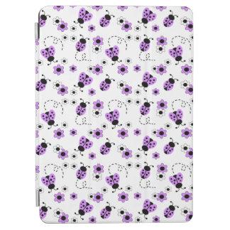 Lila Lavendel-Marienkäfer-Dame Bug Floral Teen iPad Air Hülle