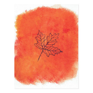 lila leaf09052016 postkarte