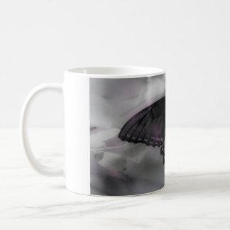 Lila Leidenschaft Kaffeetasse