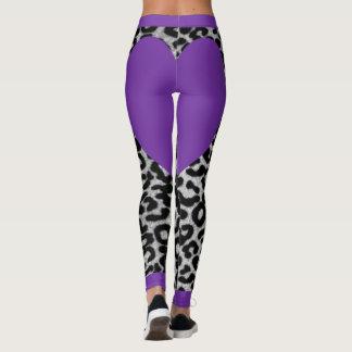 Lila Leopard Leggings