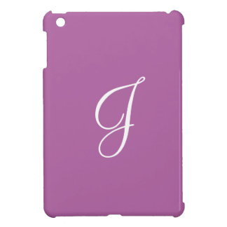 Lila lila einfaches iPad mini hülle