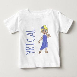Lila Lyrical Tanz-Erwägungsgrunden-Kostüm-moderner Baby T-shirt