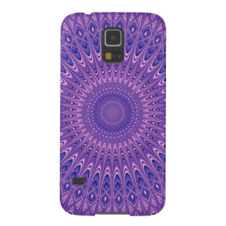 Lila Mandala Galaxy S5 Cover