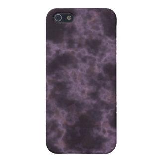Lila Marmorbeschaffenheit Schutzhülle Fürs iPhone 5