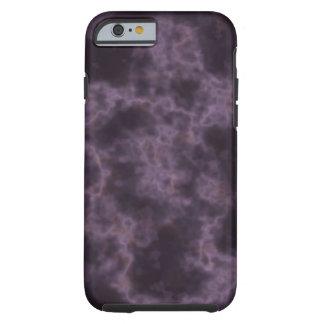 Lila Marmorbeschaffenheit Tough iPhone 6 Hülle