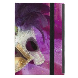 Lila Maskerade-Maske Etui Fürs iPad Mini
