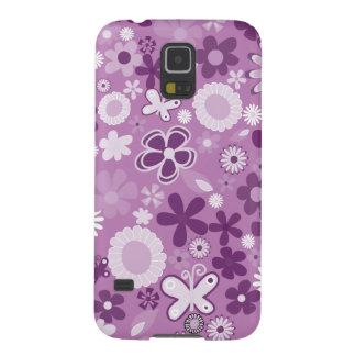 Lila MischBlumen Galaxy S5 Cover