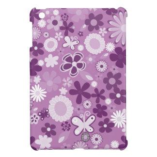 Lila MischBlumen iPad Mini Cover