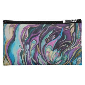 lila - mittlere kosmetische Tasche