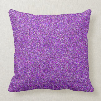 Lila Moondust Glitter-Muster Kissen