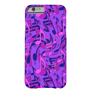 Purple Music Pattern Pink Musical Notes