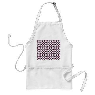Lila Musterabgleichungs-Küchen-Dekor Schürze