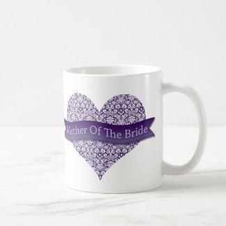 Lila Mutter der Braut Kaffeetasse