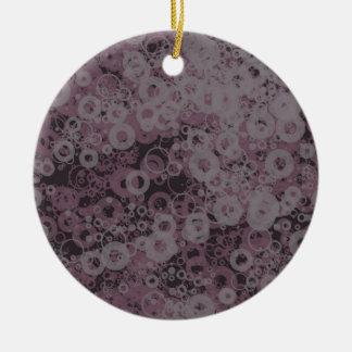 Lila nahtloses keramik ornament