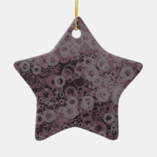 Lila nahtloses keramik Stern-Ornament
