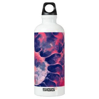 Lila Nautilus Aluminiumwasserflasche