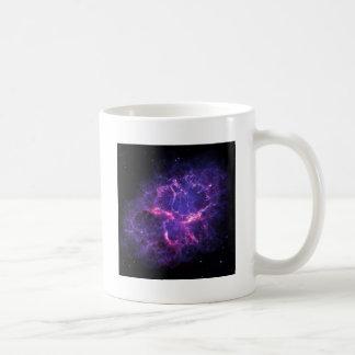 Lila Nebelfleck Kaffeetasse
