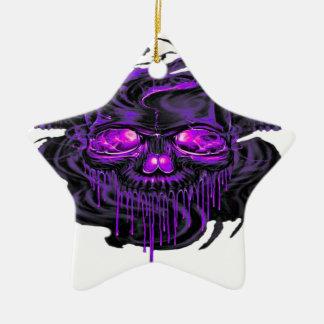Lila Nerpul Skelette png Keramik Ornament