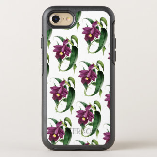 Lila Orchideen-Muster OtterBox Symmetry iPhone 8/7 Hülle