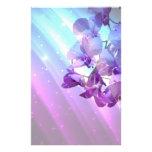 lila Orchideenhochzeit des romantischen eleganten  Individuelles Büropapier