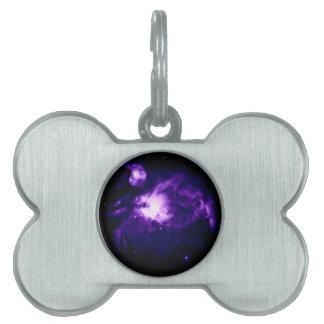 Lila Orions-Nebelfleck: Galaxie Tiermarke