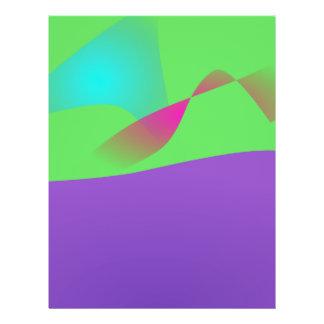 Lila Ozean 21,6 X 27,9 Cm Flyer