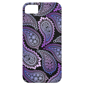 Lila Paisley iPhone 5/5S Kasten Barely There iPhone 5 Hülle